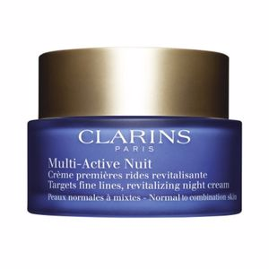 Antifatigue facial treatment MULTI-ACTIVE crème légère nuit Clarins