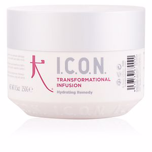 Hair mask for damaged hair TRANSFORMATIONAL INFUSION hydrating remedy I.c.o.n.
