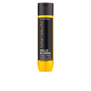 Shiny hair products TOTAL RESULTS HELLO BLONDIE conditioner Matrix