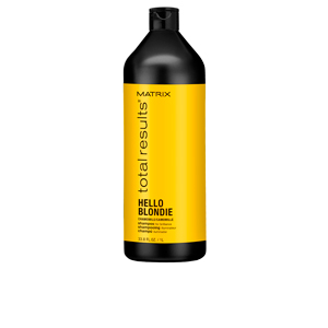 Champú brillo - Champú hidratante TOTAL RESULTS HELLO BLONDIE shampoo Matrix