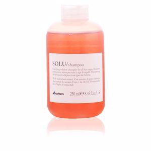 Shampooing purifiant ESSENTIAL champú solu Davines