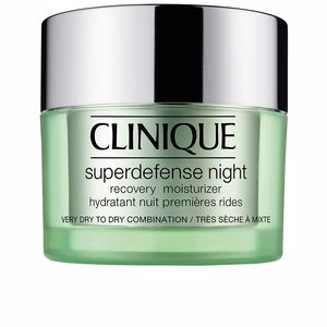 Face moisturizer SUPERDEFENSE NIGHT recovery moisturizer I/II Clinique