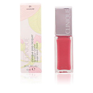 POP LACQUER lip colour + primer #01-cocoa pop 6 ml