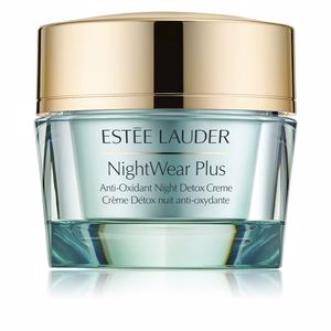 Acne Treatment Cream & blackhead removal NIGHTWEAR PLUS anti-oxidant night detox creme Estée Lauder