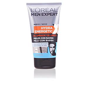 MEN EXPERT hydra energetic gel limpiador piel c/barba 150 ml