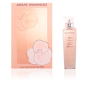 Adolfo Dominguez, AGUA FRESCA ROSAS BLANCAS eau de toilette spray collector 200 ml