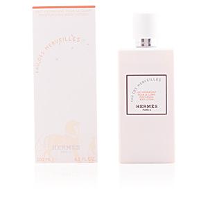 Hidratante corporal EAU DES MERVEILLES mosturizing body lotion Hermès