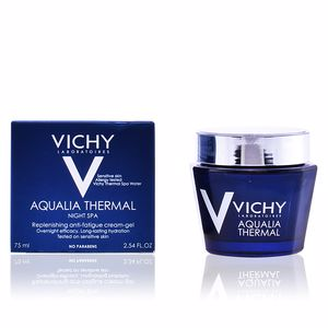 Antifatigue facial treatment AQUALIA THERMAL soin de nuit effet spa Vichy Laboratoires