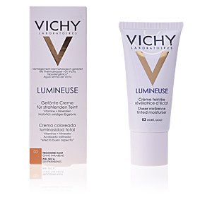 BB Cream LUMINEUSE creme teintée révélatrice d'éclat dry skin Vichy