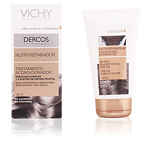 Hair repair conditioner DERCOS Nutri Réparateur apres shampooing crème Vichy