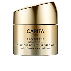 Skin tightening & firming cream  PROGRESSIF ANTI-AGE GLOBAL le masque de nuit 3 ors Carita