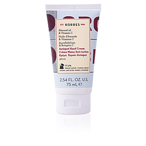 Korres, ALMOND OIL & VITAMIN C antispot hand cream 75 ml
