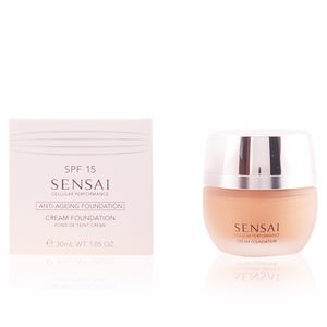 Foundation makeup SENSAI CELLULAR PERFORMANCE cream foundation SPF15