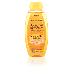 ORIGINAL REMEDIES champú camomila y miel de flores 400 ml