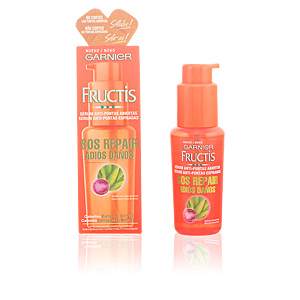 Hair repair treatment FRUCTIS ADIÓS DAÑOS serum puntas abiertas Garnier