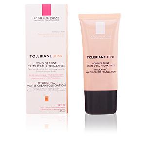 Foundation makeup TOLERIANE TEINT fond de teint creme d'eau hydratante La Roche Posay