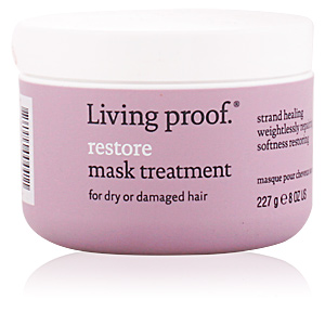 Hair mask for damaged hair RESTORE mask treatment Living Proof