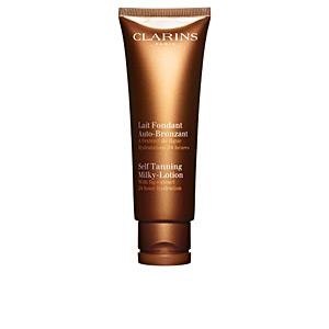 Faciales SUN lait fondant auto-bronzant Clarins