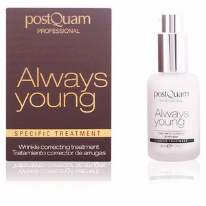 Crèmes anti-rides et anti-âge ALWAYS YOUNG wrinkle correcting treatment Postquam