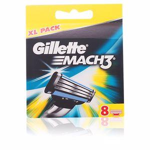 Lâmina de barbear MACH 3 recambios Gillette