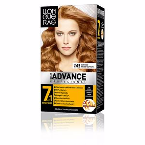 Dye COLOR ADVANCE #7,43-cobrizo medio dorado Llongueras