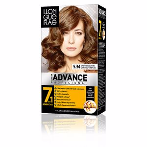 Dye COLOR ADVANCE #5,34 castaño claro dorado cobrizo Llongueras