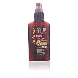Corps SOLAR ACEITE SECO COCO SPF50 spray Babaria
