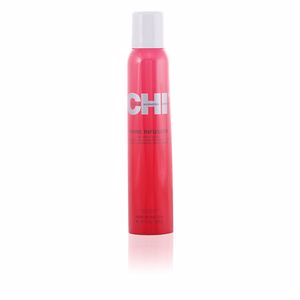 Hair styling product CHI SHINE INFUSION hair shine spray Farouk
