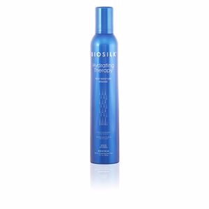 Hair styling product BIOSILK HYDRATING THERAPY rich moisture mousse Farouk