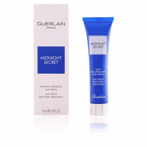 Antifatigue facial treatment MIDNIGHT SECRET soin récupération nuit brève Guerlain