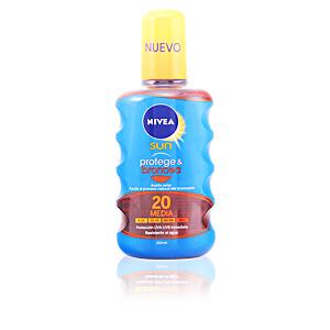 Corporales SUN PROTEGE & BRONCEA aceite SPF20 spray Nivea