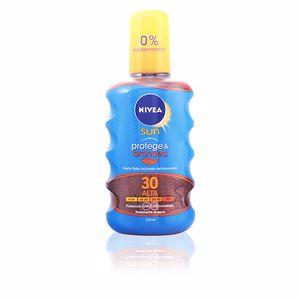 Body SUN PROTEGE & BRONCEA aceite SPF30 spray Nivea