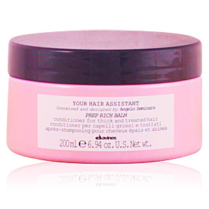 Acondicionador desenredante YOUR HAIR ASSISTANT prep rich balm Davines