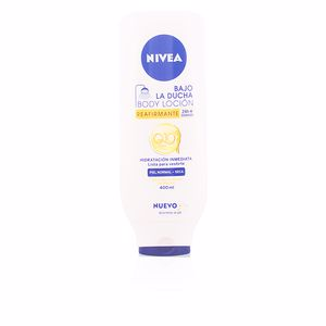 Body moisturiser BAJO LA DUCHA loción Q-10 piel normal a seca Nivea