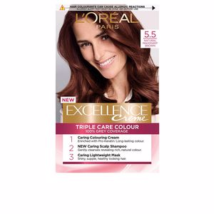 Dye EXCELLENCE Creme tinte #5,5 castaño claro caoba L'Oréal París