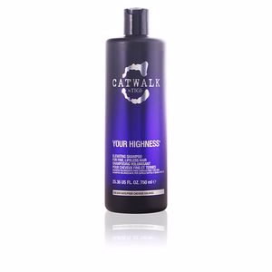 Anti frizz shampoo CATWALK your highness elevating shampoo Tigi