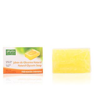 Hand soap PHYTO NATURE pastilla jabón glicerina natural Luxana
