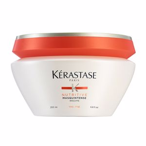 Hair mask for damaged hair NUTRITIVE masquintense irisome cheveux fins Kérastase
