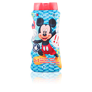 Bagno schiuma MICKEY 2 en 1 bubble bath & shampoo Cartoon
