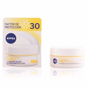 Anti aging cream & anti wrinkle treatment Q10+ anti-arrugas de día SPF30 Nivea