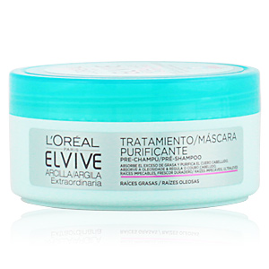 Hair mask for damaged hair ELVIVE arcilla extraordinaria tratamiento pre-champú L'Oréal París