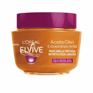 Hair mask for damaged hair ELVIVE aceite extraordinario mascarilla rizos L'Oréal París