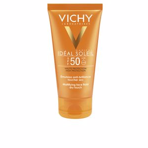 Visage IDÉAL SOLEIL emulsion anti-brillance toucher sec SPF50