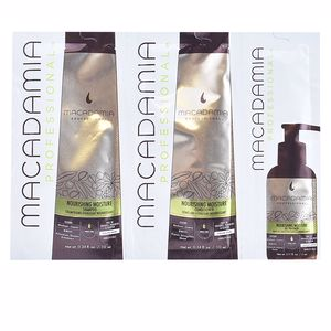 Hair repair conditioner NOURISHING MOISTURE TRIO SET Macadamia