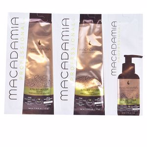 Hair repair conditioner ULTRA RICH MOISTURE TRIO SET Macadamia