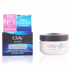 Tratamiento Facial Hidratante ANTI-EDAD hidratación instantánea crema de día Olay