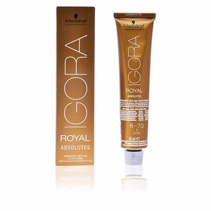 Tintes IGORA ROYAL ABSOLUTES anti-age color creme 6-70 Schwarzkopf