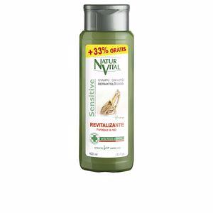 Feuchtigkeitsspendendes Shampoo SENSITIVE champú ginseng revitalizante Naturvital