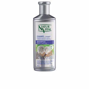 Champú color CHAMPU SILVER cabello blanco y gris Naturvital