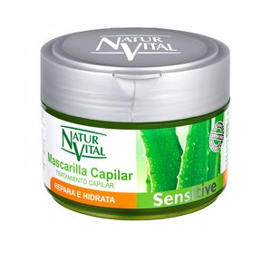 Hair mask for damaged hair MASCARILLA REPARA E HIDRATA sensitive Naturvital